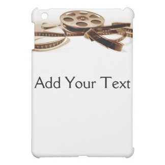 Film Reel in Sepia Tones Background iPad Mini Cover