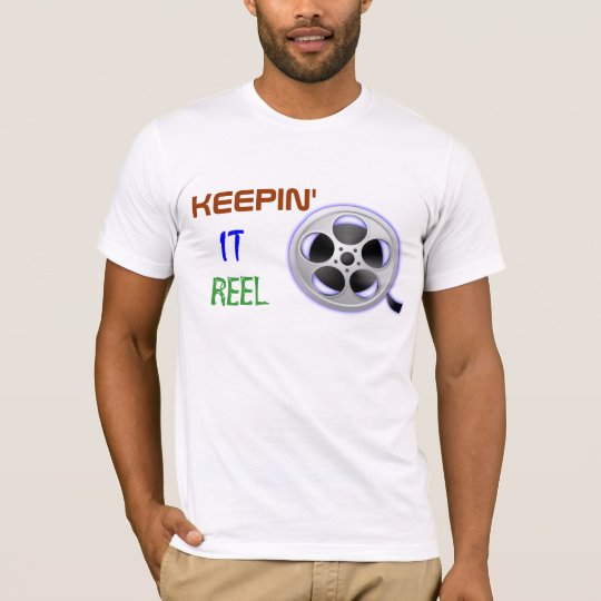 Film Reel Projectionist T Shirt