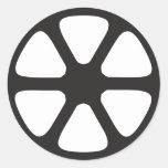 Film Reel Stickers
