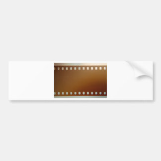 Film roll color bumper sticker