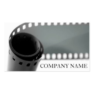 Film Roll Photography Business Card Templates