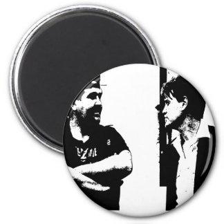 Film set 6 cm round magnet