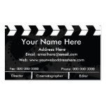 Film Slate Double-Sided Standard Business Cards (Pack Of 100)