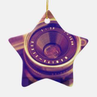 Film SLR Ceramic Star Decoration