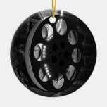 Film Spool Circle Ornament