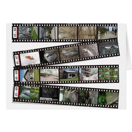 Film Strip 2003-04 Greeting Card