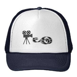Film strip and film camera cap