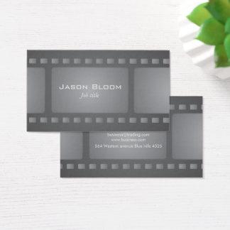 Film strip business card