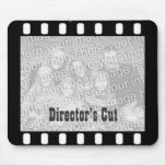 Film Strip Custom Photo Frame Director's Mousepad