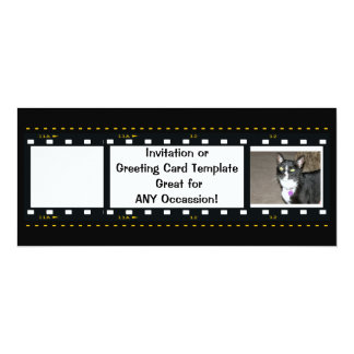 Film Strip-Customize Free 10 Cm X 24 Cm Invitation Card