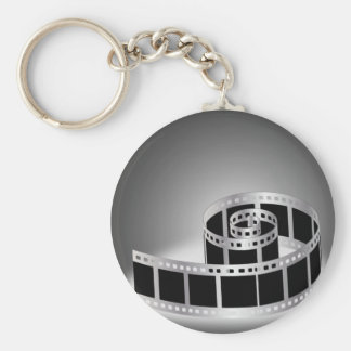 Film strip key ring