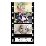 Film Strip Photography Business Cards