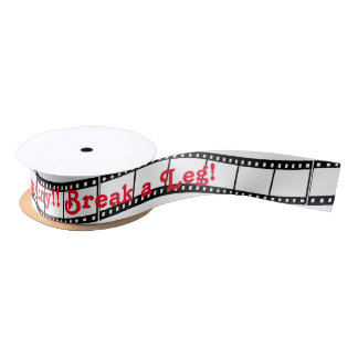 Film Strip Satin Ribbon