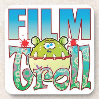 Film Troll Beverage Coaster