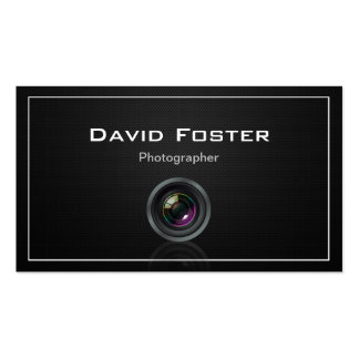 Film TV Photographer Cinematographer Pack Of Standard Business Cards