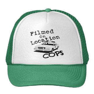 Filmed On Location-Hat