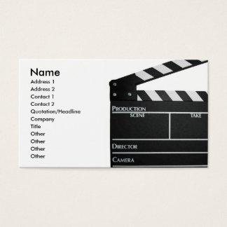 158+ Filmmaker Business Cards and Filmmaker Business Card ...