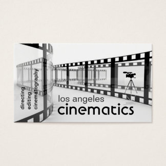 filmmaker's business card