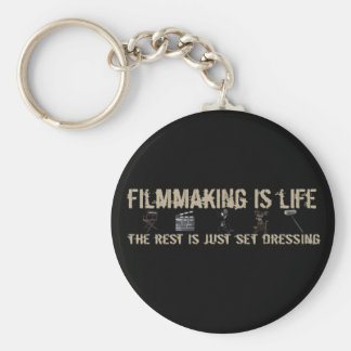 Filmmaking is Life Key Ring