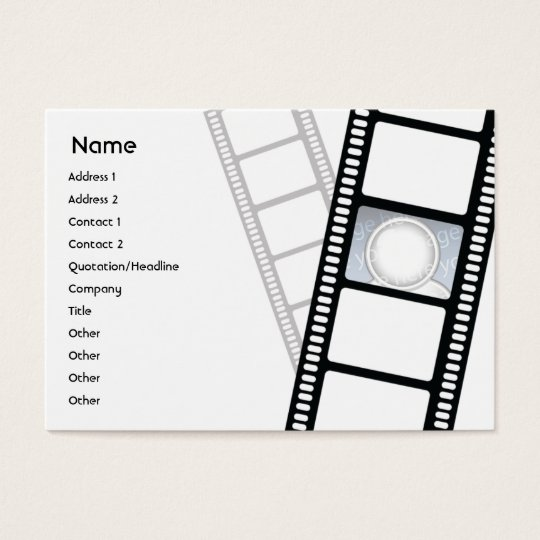 Filmstrip - Chubby Business Card