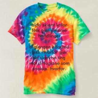 filosofisk batikk skjorte - T-Shirt