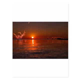 Filtered Texas Sunise Postcards