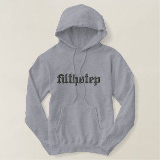 filthstep embroidered hoodie