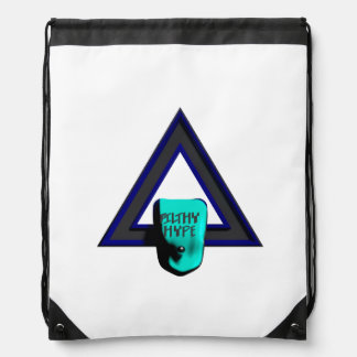 Filthy Hype Sky Blue Collection Drawstring Bag
