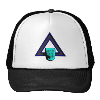 Filthy Hype Trucker Hat Sky Blue Collection