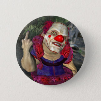 Filthy the Clown 6 Cm Round Badge