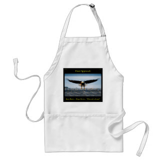 Final Approach Bald Eagle Apron