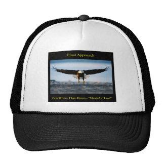 """Final Approach"" Bald Eagle Hat"