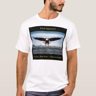 Final Approach Men's Bald Eagle Shirt