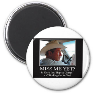 Final-BUSH-HAT.Miss-Meai Refrigerator Magnet