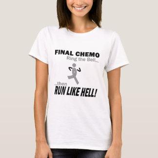 Final Chemo Run Like Hell - Brain Cancer / Tumor T-Shirt