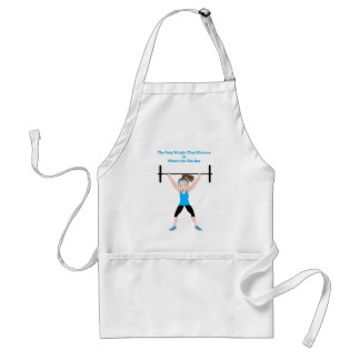 final DarZee png The Only Weight That Matters Aprons