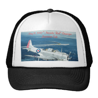 "Final Dauntless, May 10, 1942 ""Nevada Red"" Dama... Cap"