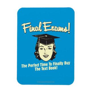 Final Exams: Finally Buy the Text Book Flexible Magnets