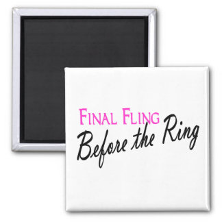 Final Fling Before The Ring Magnets