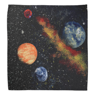 FINAL FRONTIERS (outer space design 6) ~ Bandana