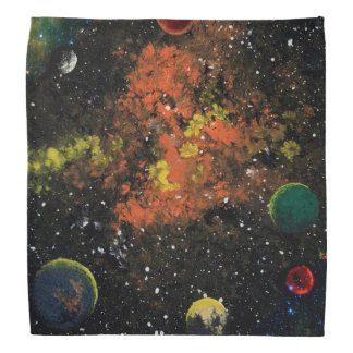 FINAL FRONTIERS (outer space design 8) ~ Bandana