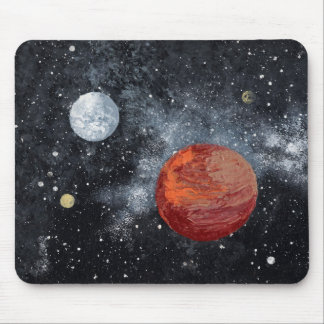 FINAL FRONTIERS space design 3 Mouse Pads
