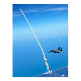 Final Launch of Space Shuttle Atlantis - May 2010 Postcard