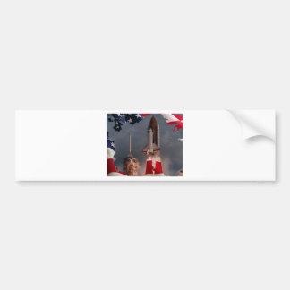 Final Shuttle Flight Bumper Stickers