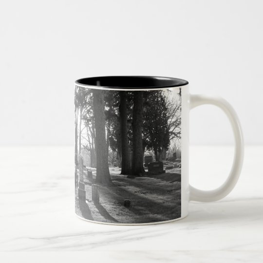 Final Sunset (b&w) Mug