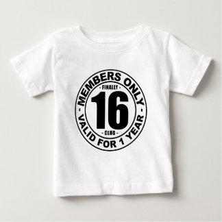 Finally 16 club baby T-Shirt
