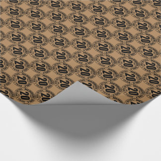 Finally 20 club wrapping paper