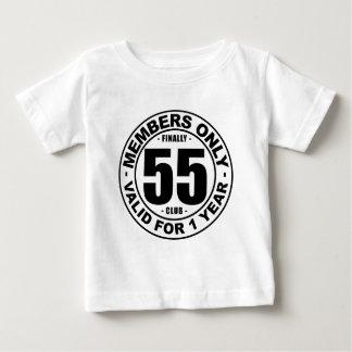 Finally 55 club baby T-Shirt