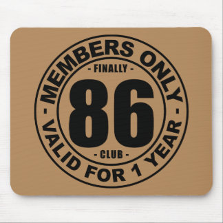 Finally 86 club mouse mat