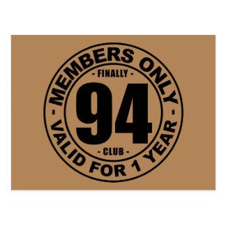 Finally 94 club postcard